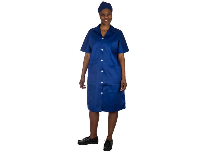 Ladies Canteen Overall Royal Blue